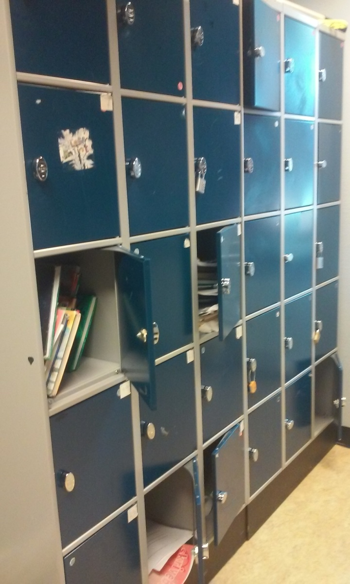 Skjevfordeling av skoleskap på Kannik skole